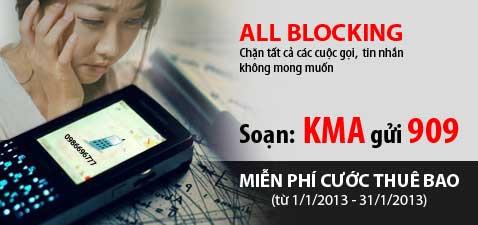 Cơ hội trải nghiệm dịch vụ All Blocking miễn phí