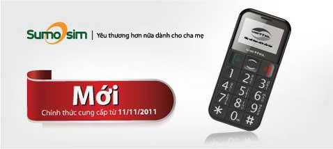 SumoSim V6103 - điện thoại dành tặng người cao tuổi