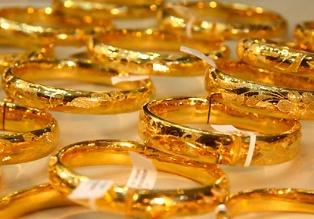 Giá vàng giảm mạnh về mức thấp nhất trong 1 tuần