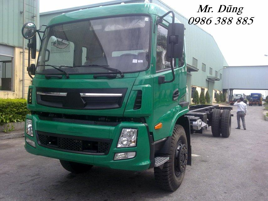 Xe tải thùng 7 tấn cửu long trường giang ben cũ mới các loại tải trọng đã qua sử dụng
