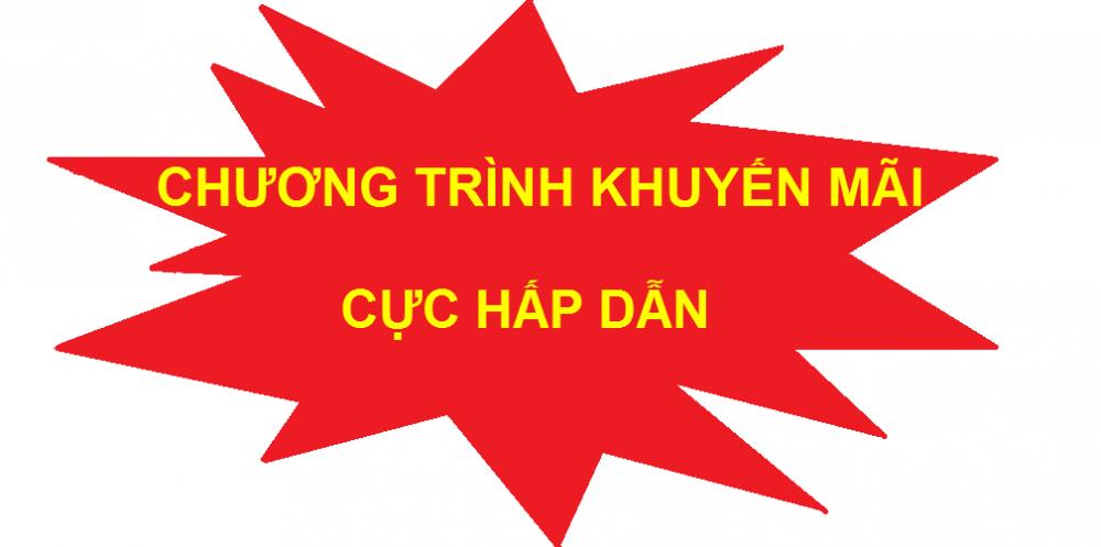 Khuyen mai bon nuoc son ha, thai duong nang