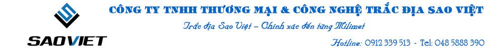 Công Ty TNHH TM Và Công Nghệ Trắc Địa Sao Việt