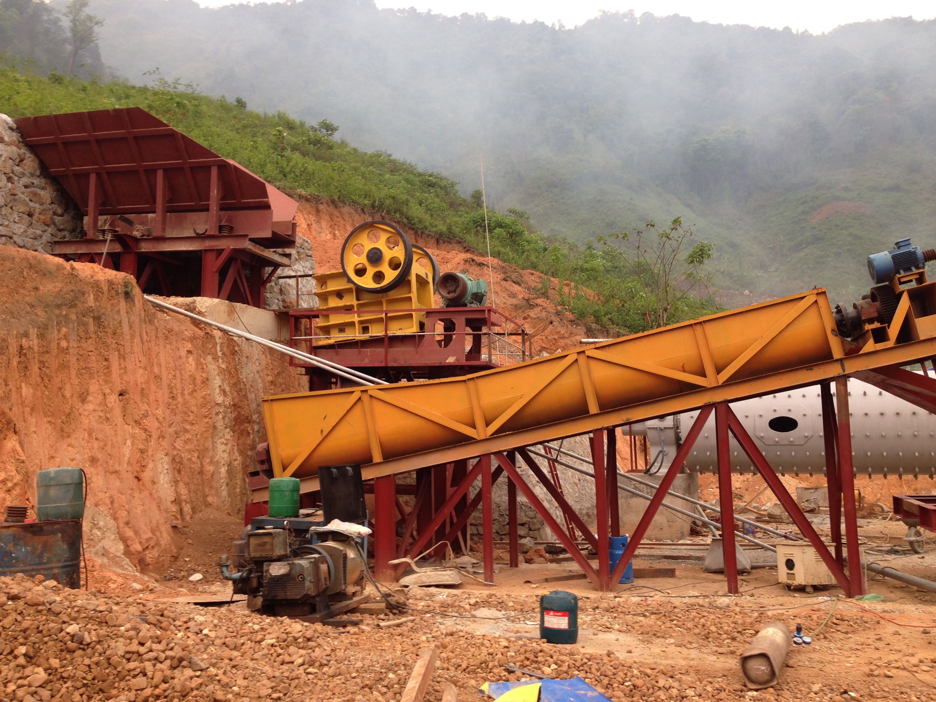 Mỏ Vàng Bồng Miêu tái hoạt động sau gần 7 tháng đóng cửa