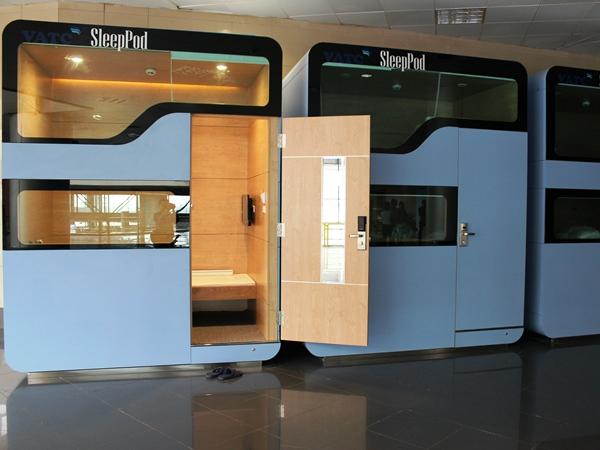 Sân bay Nội Bài lắp phòng ngủ mini sử dụng khóa ADEL 1003