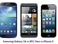 """iPhone 5, Galaxy S4 và HTC One: """"Mèo nào cắn mỉu nào"""""""