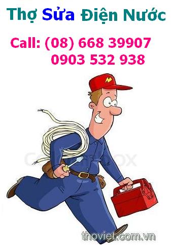 Thợ sửa điện nước tận nhà - Thợ Việt