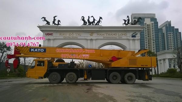 thuê cẩu chuyên dùng 150 tấn tại Thanh Xuân
