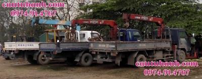 thuê cẩu tự hành 5 tấn tại Hà Nội