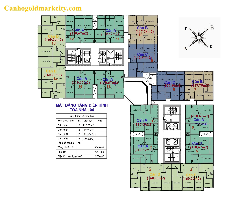 Tòa 104 goldmark city