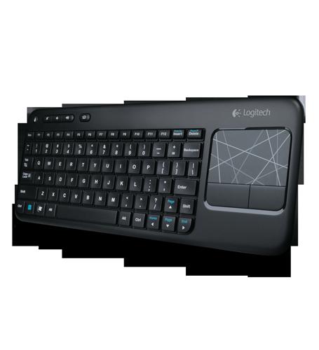 Bàn phím không dây có chuột cảm ứng Logitech K400