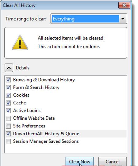Thủ thuật cải thiện tốc độ cho trình duyệt Firefox