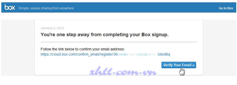 Đăng ký với 15GB lưu trữ dữ liệu miễn phí từ Box.com