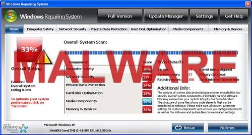 Dấu hiệu và cách phòng ngừa phần mềm malware cho máy tính