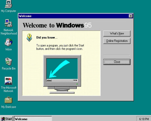 he dieu hanh windows 95