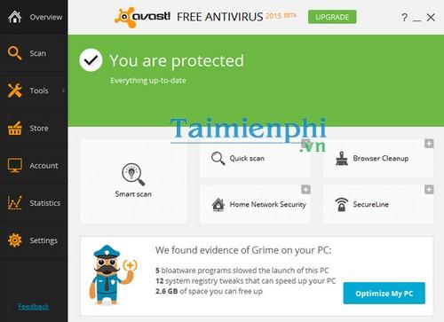 Phần mềm diệt virus miễn phí cho máy tính