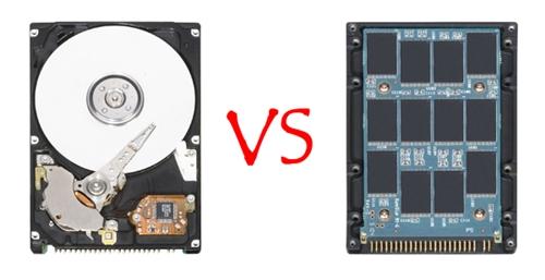 So sánh điểm khác nhau giữa ổ cứng SSD và HDD