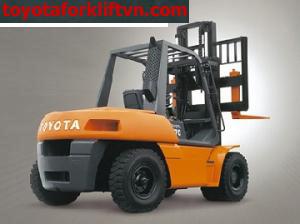 Xe Nâng Toyota động cơ dầu 5 tấn đến 8 tấn