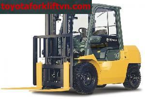 Xe Nâng Toyota động cơ dầu 3,5 tấn đến 5 tấn