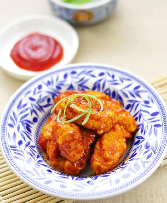 Cách làm thịt thăng sốt trứng chua ngọt ăn hoài không chán