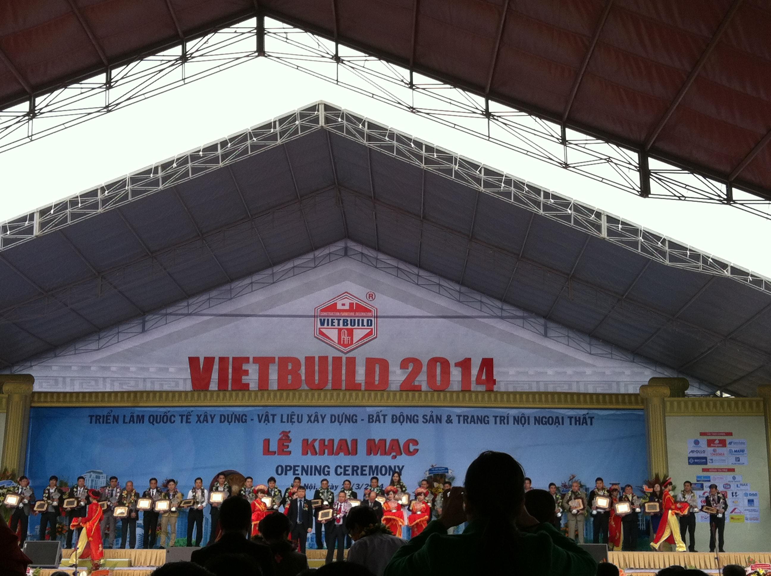 Hội chợ Vietbuild 2014