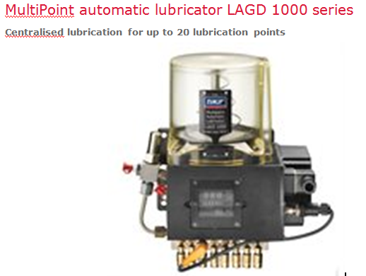 Hệ thống bôi trơn tự động SKF: LAGD 1000