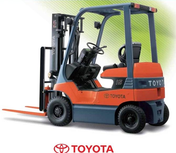 Xe nâng điện 7FB Toyota
