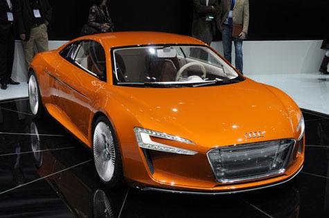 Năm 2012, xuất xưởng siêu xe điện Audi e-Tron