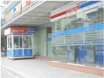 Trộm tiền tại máy ATM