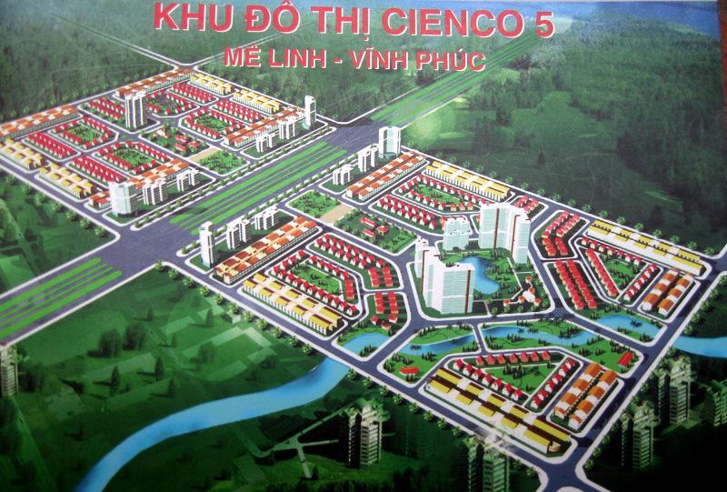 Bán LK,BT Cienco 5 Mê Linh(Cienco 5 Me Linh) dt 100-150m2,giá rẻ