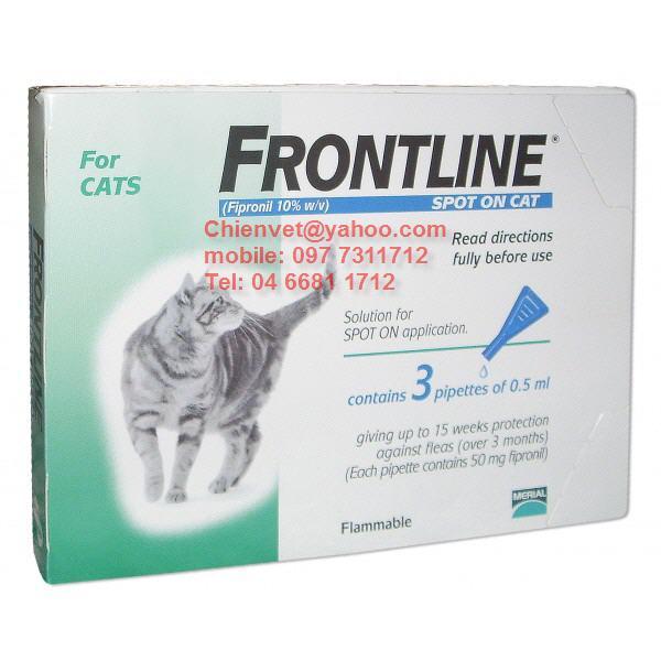 Frontline spot on làm việc như thế nào