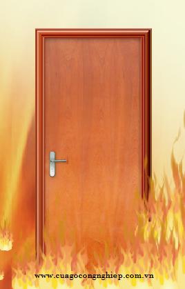 Kết cấu và chức năng của cửa gỗ chống cháy