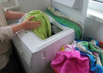 Bí quyết để giặt sạch bằng máy