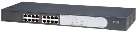3Com® Fast Ethernet Switch 16 (HP V1405-16 Desktop Switch): 1.387.000 + vat