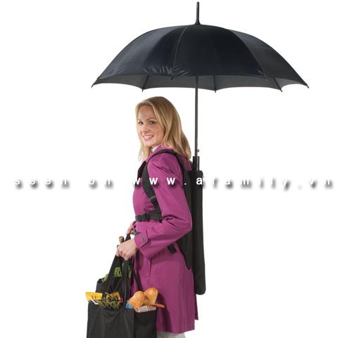 Ô che mưa, nắng không cần cầm ở tay