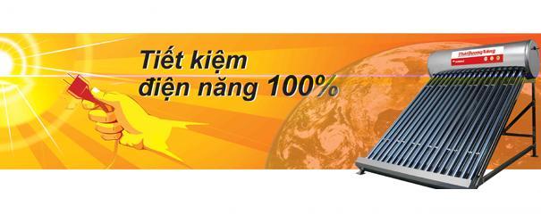 Dùng máy nước nóng năng lượng mặt trời là bài toán kinh tế