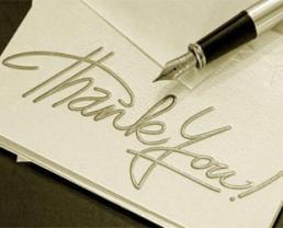 5 lý do để viết thư cảm ơn