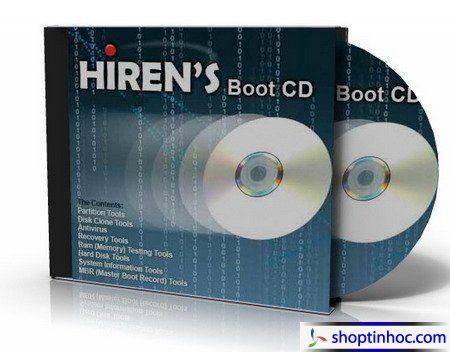Hiren's BootCD 14.0 - Đĩa cứu hộ máy tính hàng đầu