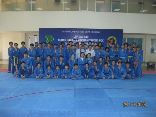VOVINAM NTL TDTT PHÚ THỌ Thi thăng cấp - Khóa II năm 2009 - Pasage de Grade