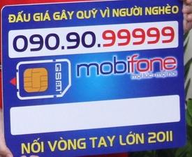 SIM ngũ quý MobiFone có giá hơn 1 tỉ đồng!
