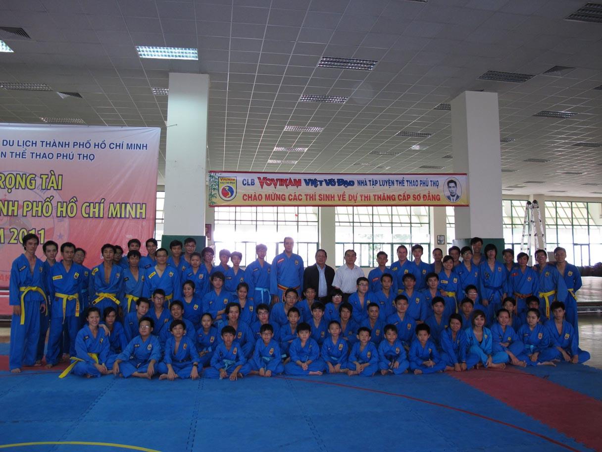 CLB VOVINAM NTL PHÚ THỌ - Thi thăng cấp khóa IV-2011 - Passage de Grade