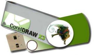 CorelDraw X3 portable 33.6MB