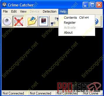 Crime Catcher 3.22 Full - Phần mềm chống trộm bằng WC
