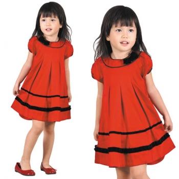 Xu hướng thời trang trẻ em Mùa xuân hè 2012