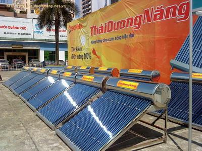10.669 bình Thái Dương Năng được tiêu thụ