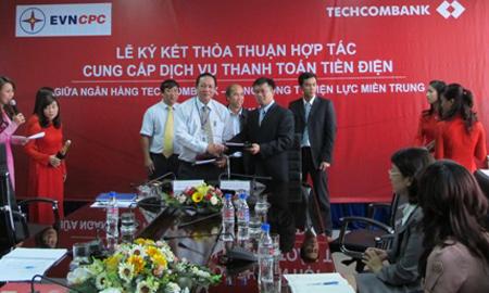 Techcombank và EVN CPC ký kết thỏa thuận hợp tác