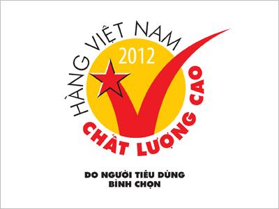 Sơn Hà vinh dự đạt danh hiệu hàng Việt Nam chất lượng cao 2012