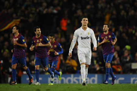 C. Ronaldo  thc s ln ti Nou Camp