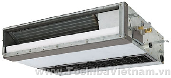 Duct Split Unit : Toshiba ducted slim indoor unit vrf systems controls