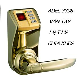 KHÓA VÂN TAY ADEL 3398