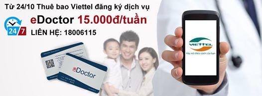 Hướng dẫn đăng ký và sử dụng dịch vụ eDoctor